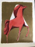 Sami Briss 1930israelifrench Lithography On Original Paper