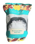 The Pioneer Woman Ice Cream Maker Mix 8 Lbs Rock Salt Bag Pouch Traditional