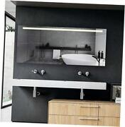 72x30 Inch Led Lighted Bathroom Mirror With Touch Button For Color 72x30