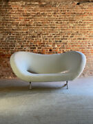 Ron Arad Victoria And Albert Sofa In Boucle By Moroso