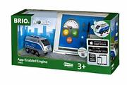 Brio World - 33863 App-enabled Engine | Toy Train For Kids Ages 3 And Up