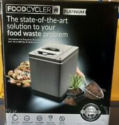 Food Cycler Platinum Indoor Food Waste Recycler And Kitchen Compost Container