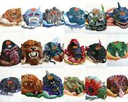 Mighty Max Doom Zones 18 Different Types Of Playsets 100 Complete Bluebird Toys