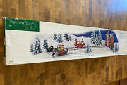Dept 56 North Pole Series Loading The Sleigh 52732 Animated Christmas Retired