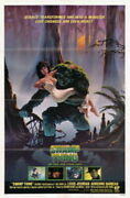 233724 The Swamp Thing Rienne Barbeau Cult Classic Movie Poster Print Ca