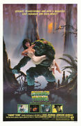 233865 Swamp Thing Rienne Barbeau Movie Poster Print