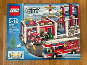 Retired Lego Town City 7208 Fire Station ⭐️new⭐️ Sealed
