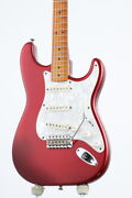 Fender American Vintage 57 Stratocaster Candy Apple Red Electric Guitar Used