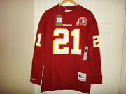 Sean Taylor Mitchell And Ness Redskins Menand039s Name And Number Long Sleeve Top 110