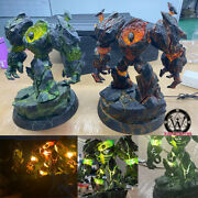 Bigfoot Warcraft Wow Infernal Resin Model Painted Statue Pre-order Led Light