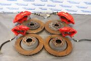 2016 Dodge Challenger Srt Hellcat Oem Brembo Brake Calipers And Rotors Scratches
