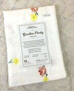 New Vermont Country Store Spring Garden Party 100 Cotton Tablecloth