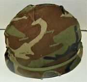 Military Issue Steel Combat Helmet Liner Camo Cover Band Retainer 1984