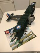 Lego Creator 10226 Sopwith Camel Airplane 98 Complete W/ Instructions No Box