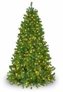 Olympia Pine Pre-lit Christmas Green Tree Full 9 Ft Large Tall Warm White Led