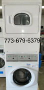 Speed Queen Commercial Stack Washer And Electric Dryer Opl