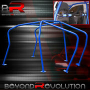 6 Point Anti Roll Cage Safety Blue Chassis Brace Blue Mk4 Vw Golf Gti 1.8t Vr6