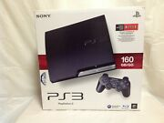 Sony Playstation 3 Slim Launch Edition 160gb Console - Brand New - Cech-2501a