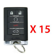 New Replacement For Cadillac 2008 - 2014 Smart Prox Key 5b M3n5wy7777a 15 Pack