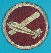 Ww 2, Os Cap Soaring Glider Artillery Patch, Excellent Cond, 3