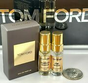 Tom Ford Perfume Set Of Two Tobacco Vanille And Oud Wood