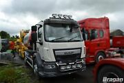 Roof Bar + Leds + Led Spots S For Daf Lf Pre 2014 Stainless Steel Truck Front