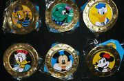 Lot Of 6 Disney Mickey Mouse And Friends Wonder Mates - Set Of 6 Coins Sealed