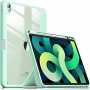 Infiland Ipad Air4 2020 Case Ipad 10.9 Inch Cover With Pen Holder Ultra-lightwe