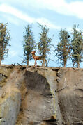 Model Fir Trees, 2 Inches Tall, Choose How Many, For Dioramas, Wargames, Train