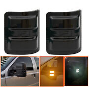 2led Switchback White/amber Flowing Side Mirror Lights For 08-16 Ford F250 S7