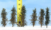 Model Fir Trees, 4 Inches Tall, Choose How Many, For Dioramas, Wargames, Train