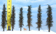 Model Fir Trees, 6 Inches Tall, Choose How Many, For Dioramas, Wargames, Train