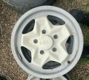 Porsche Oem Wheels White Cookie Cutter Style Used
