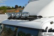Roof Bar B + Clamps + Leds + Led Jumbos Spots For Mercedes Axor Low Truck Black