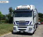 Roof Bar Black+led Spots+beacons For Iveco Stralis Cube+hw Active Space Time