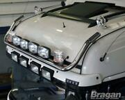 Roof Bar+leds+led Spots+clear Beacon For Daf Xf 106 2013+ Superspace Cab Truck