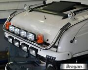 Roof Bar + Led Spots S + Amber Beacon For Mercedes Actros Mp4 12+ Bigspace Truck