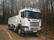 Roof Bar + Leds + Led Spots S + Amber Beacons For Scania 4 Std Sleeper Truck Top