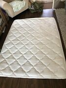 C4 Queen Sleep Number Select Comfort Mattress Bed Cover Top And Bottom Padded Good