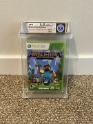 2012 Minecraft Xbox 360 Edition Sealed Wata Games Graded 9.4 A+ Brand New