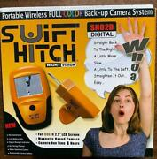 Swift Hitch Sh02d Full Color Digital Portable Wireless Backup Camera System