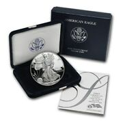 2007 Us Proof American Silver Eagle Government Package Ogp Perfect