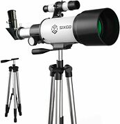 Telescope For Adults Kids Beginners 70mm Aperture 300mm Astronomical Refractor