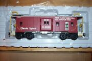 Atlas O Scale Trainman 2001727-2 Chessie System Bay Window Caboose
