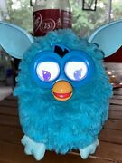 Furby Boom Interactive Toy Pet Hasbro 2012 Light Blue With Batteries Tested 1