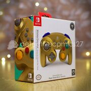 Powera Gamecube Wireless Controller For Switch Gold - Us Version New/sealed