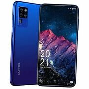 C21 Unlocked Smartphone, Android 10 Cell Phone 20mp Selfie Cellphone Dual Blue