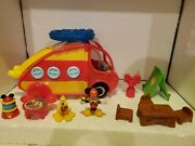 Disney Mickey Mouse Clubhouse Camper Playset Disney Junior 2009 Complete