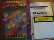Illustrated Blazing Paddles By Baudville Software For Atari 600/800/xl/xe+commod