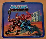 Masters Of The Universe Lunchbox And Thermos 1983 Aladdin/mattel